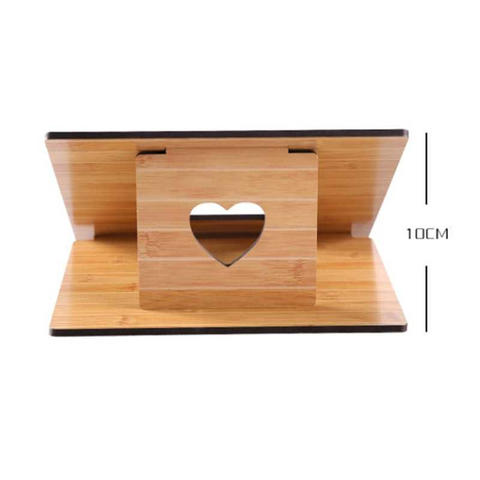 Fashion Wood Style Portable Laptop Stand - Brown