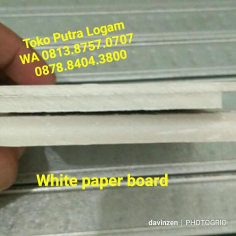 White Paperboard Paper board 1220x2440x3mm