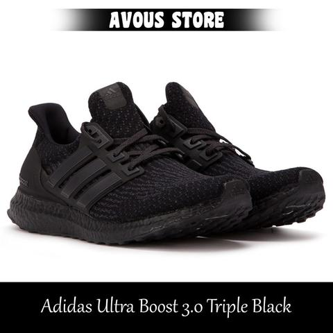 d336485a1 Jual Adidas Ultra Boost 3.0 Triple Black