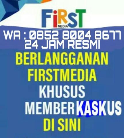 PROMO WIFI FIRSTMEDIA MARET NEW DISKON 100% FIRST MEDIA UNLIMITED