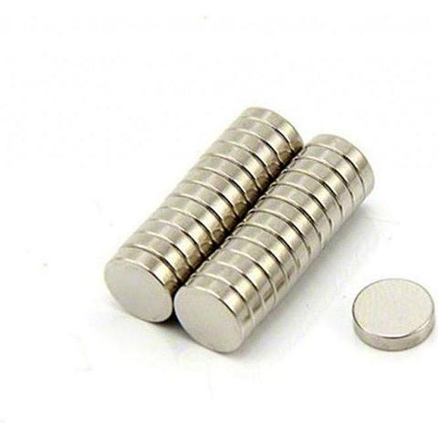 Magnet Neodymium Coin Diameter 8 mm Diameter 2 mm Kuat Super Strong