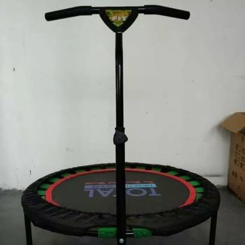 Promo Cuci Gudang Trampolin hemko jump with handle tl2200