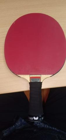 Butterfly Schlager Carbon, Bet tenis meja, like new Original