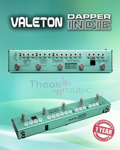 Valeton DAPPER INDIE - British / Indie Effect Strip