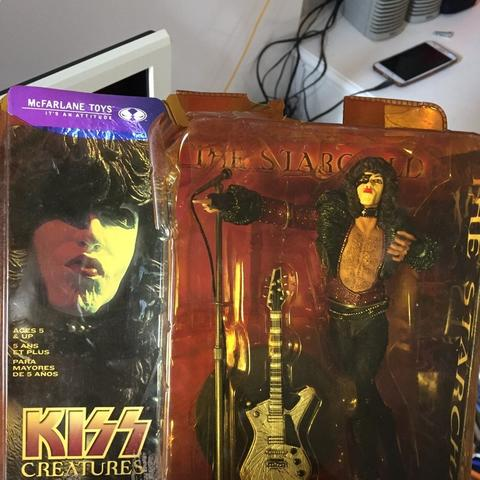 Kiss Todd Mcfarlane Creatures Paul Stanley Starchild Original Moc Mib Action Figure