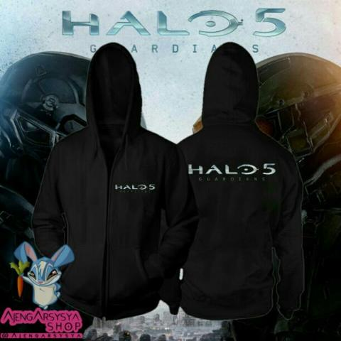 Jaket Zipper Halo 5 Guardians