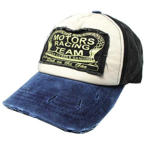 Topi Baseball Snapback Motors Racing Team - NM261 - Biru