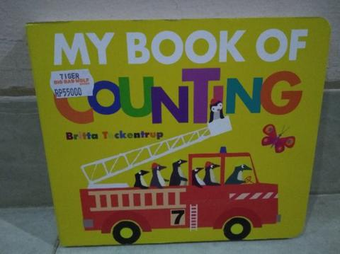 Board Book My Book of Counting