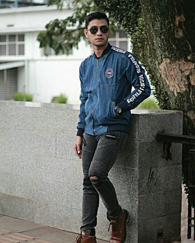 Bomber jeans taping
