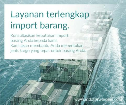Jasa Import dari China Taiwan USA Singapore Jerman | Forwarder Ekspedisi Cargo Impor