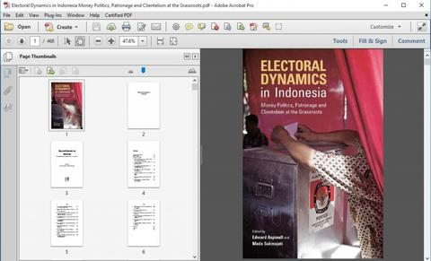 Electoral Dynamics in Indonesia Money Politics Patronage Clientelism at the Grassroot
