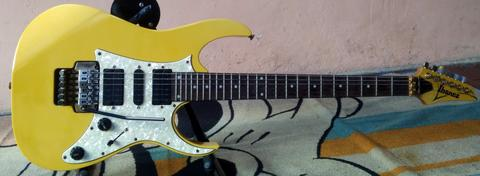 Guitar Electric Ibanez RG 350 GX Gold Made in : Japan