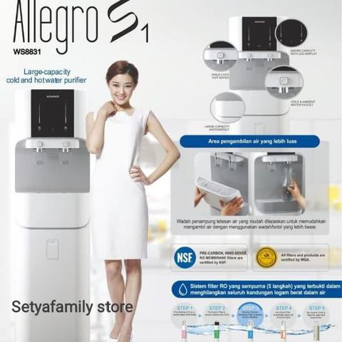 Dispenser Reverse Osmosis ADVANCE ALLEGRO S1