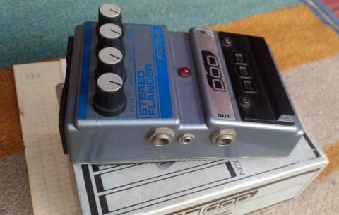 Guitar Effect DOD Stereo Flanger Made in USA