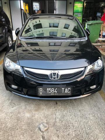 2011 Honda Civic Sedan >> Terjual Premium 2011 Honda Civic 1 8 Fd Sedan Black Gagah Gress Spoiler Siap Modif