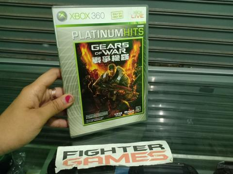 Gears of War Platinum Hits Kaset Xbox 360 ORI