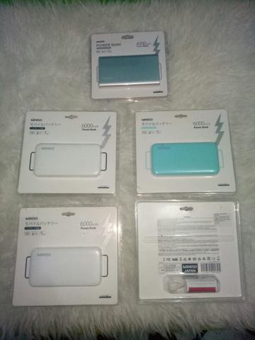 Powerbank Miniso JP105 Original 6000mAh