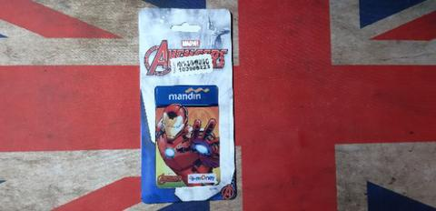 Kartu Emoney Mandiri Edisi Marvel Iron Man Original Official