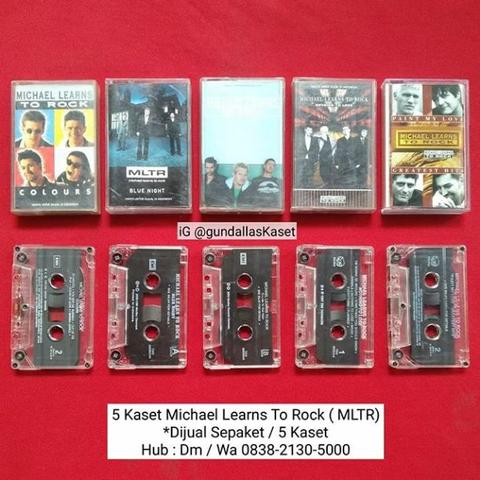 5 kaset tape Michael Learns To Rock MLTR