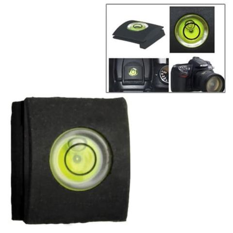 Hot Shoe Spirit Level Protection Cover Kamera DSLR Mirrorless