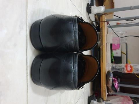 Gucci black loafer with GG buckle original not hermes bally LV salvatore tods
