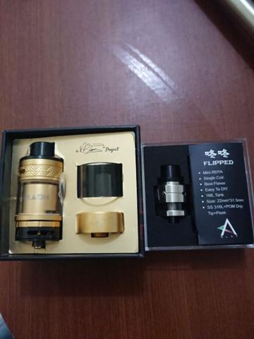Pharaoh RTA dan Fliped RDTA by Glxy