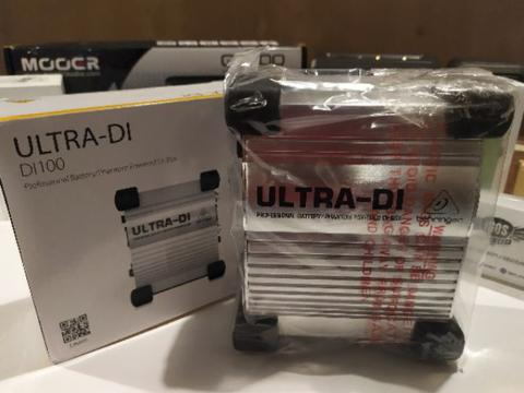 Behringer Ultra Di 100 Direct Box