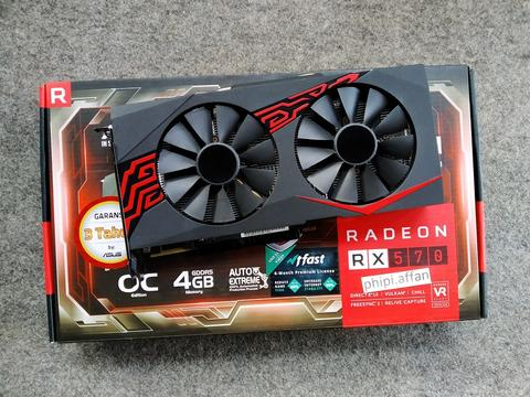 Asus Expedition RX 570 OC 4GB