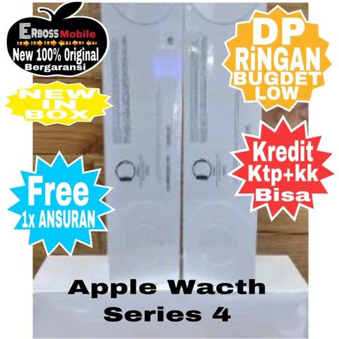 Apple Watch Series 4 - [44mm] New CAsH/KReDiT DP2jt Minat Call/WA-081905288895