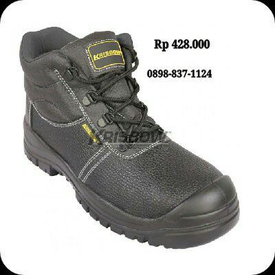 Sepatu Safety Shoes Maxi 6IN Uk.38-44 Krisbow 10111805-11