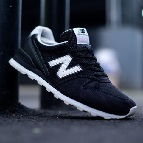 reputable site f06ac 702b9 JUAL sepatu sneakers new balance WL 996 JB black white original murmer