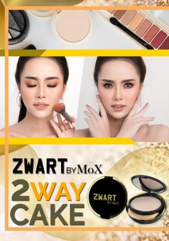 Zwart Two Way Cake 12 gr by MoX.