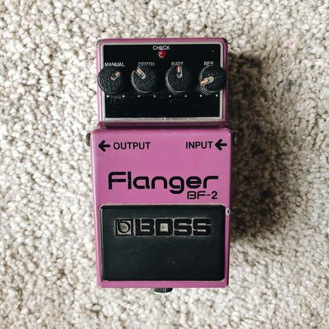 BOSS Flanger BF-2 / BF2 MIJ Japan (NOT BF-3 / BF3)