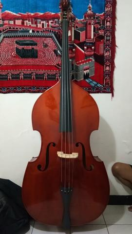 Hoffman Hoffman MB040L 4/4 Upright Bass made in China not fender stagg