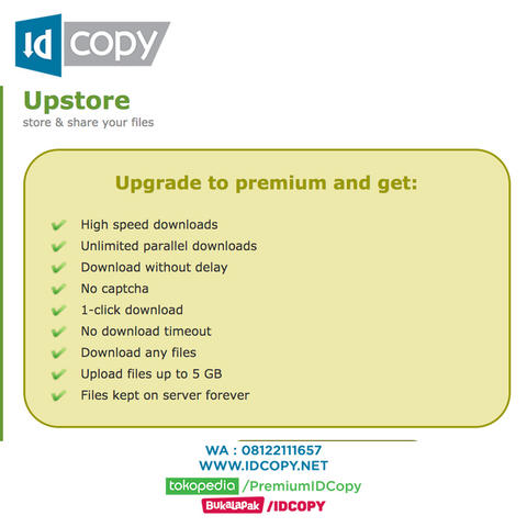 Upstore.net Premium Account Download Murah Bergaransi Fast Recommended