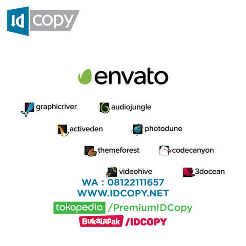 JUAL ENVATO ELEMENTS CREDIT IDCOPY DOWNLOAD