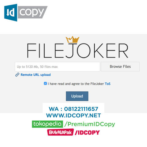 JUAL FILEJOKER HOSTING DOWNLOAD AKUN PREMIUM
