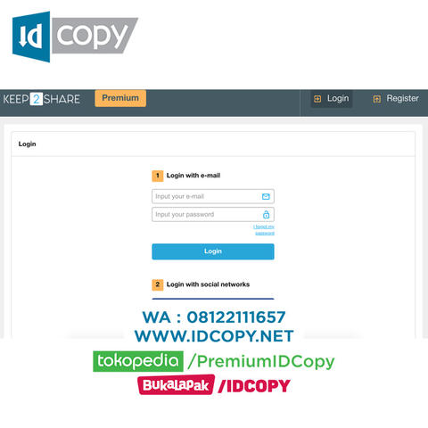 JUAL KEEP2SHARE DOWNLOAD AKUN PREMIUM IDCOPY