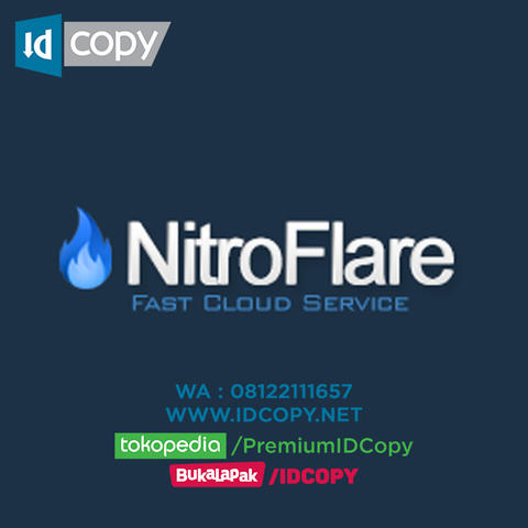 JUAL NITROFLARE DOWNLOAD AKUN ACCOUNT PREMIUM