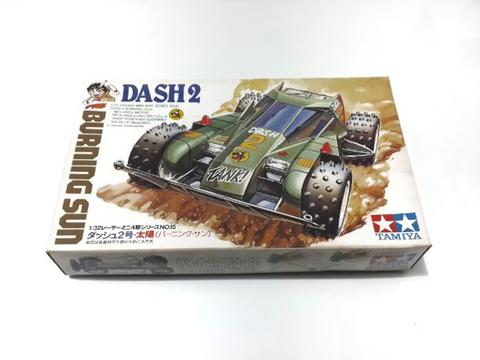 Tamiya Mini 4WD Dash 2 Burning Sun Made in Japan