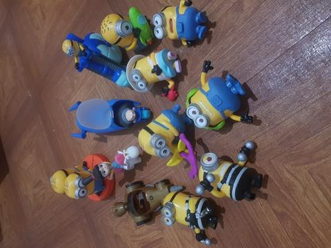 Happy meal despicable me 3 indonesia full set