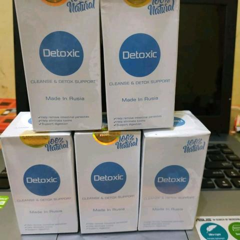 detoxic asli original herbal obat anti parasit 100% manjur 081263332210