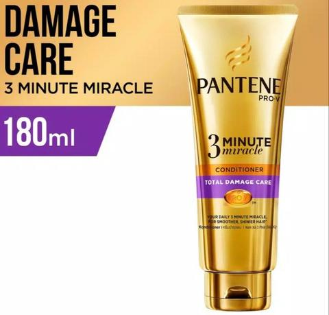 PANTENE TOTAL DAMAGE CARE 3-MINUTE MIRACLE CONDITIONER