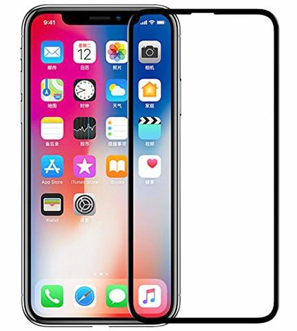 Tempered Glass Full Cover 5D Iphone X Series XS XR Xs max