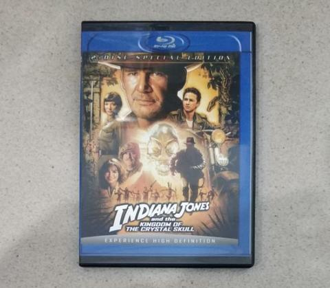 DVD - Indiana Jones and the Kingdom of the Crystal Skull (2008)