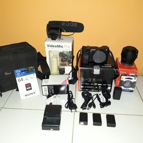 Sony A6300 paket complete