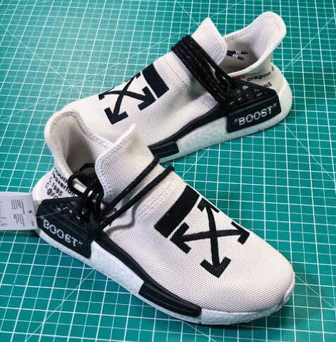 Sneakers Adidas NMD Human Race Off White