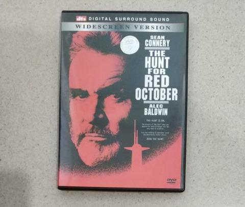 Terjual Dvd The Hunt For Red October 1990 Kaskus