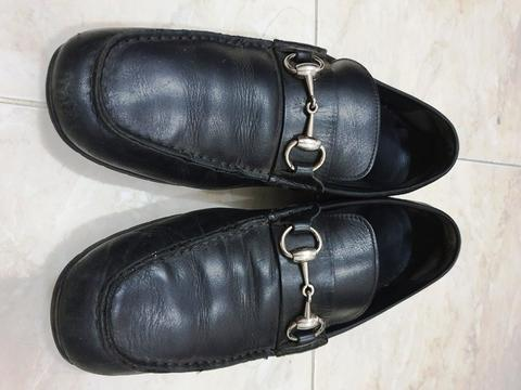 Gucci Ares moccasin original not hermes bally LV salvatore bottega prada tods