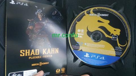 PS4 Mortal Kombat 11 reg 4 (Game Only with DLC) mulus bagus MK 11